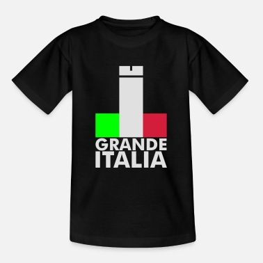 Italy Underwear Italia Italy flag - grande italia - provocative - Teenage T-Shirt