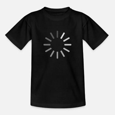 Video Buffer Buffering icon - Teenage T-Shirt