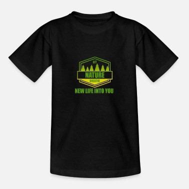 Nature Conservation Nature - conservation - Teenage T-Shirt