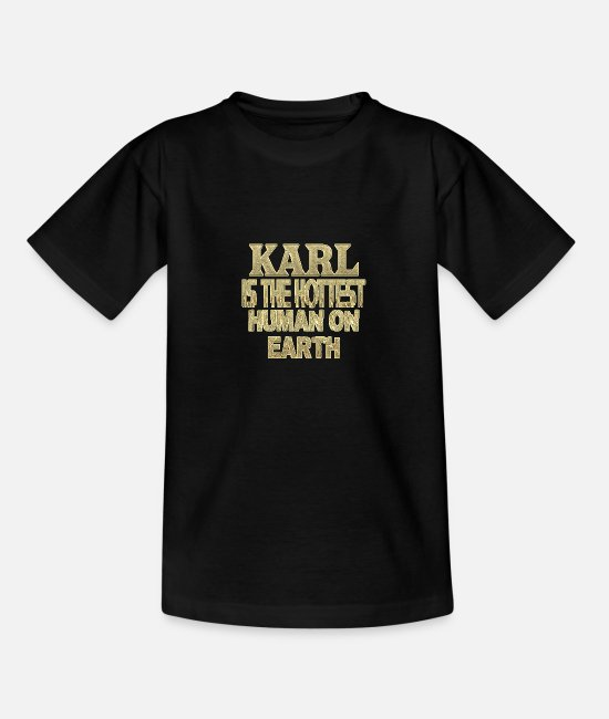 Karl T-Shirts - Karl - Teenage T-Shirt black
