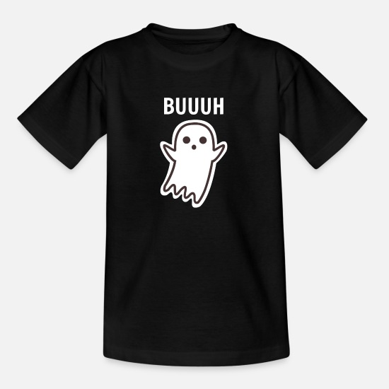 Witching Hour T-Shirts - Ghost Ghost BUUUH - Teenage T-Shirt black