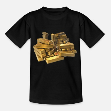 Goud ongemunt goud - Teenager T-shirt