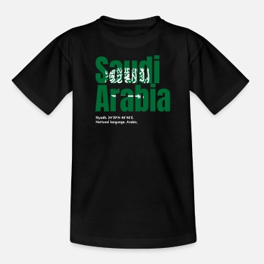 Arabien Saudi Arabien - Teenager T-Shirt