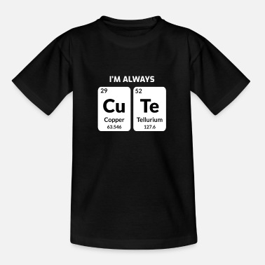 Nerd Science Lovers Teacher Student Funny Sayings Gift - Teenage T-Shirt