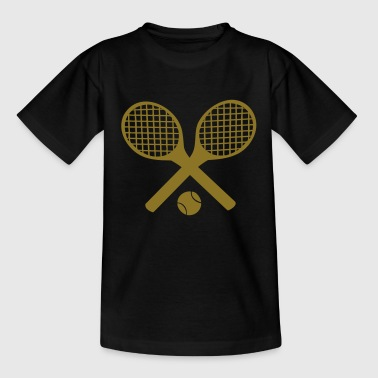 Tennis Rackets and Ball - Teenage T-shirt