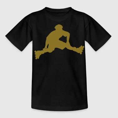 rollerblades skating sport - Teenager T-Shirt