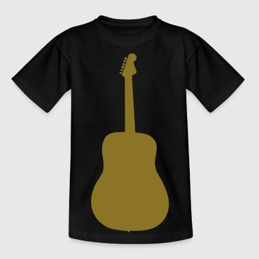 guitar instrument music - Camiseta adolescente