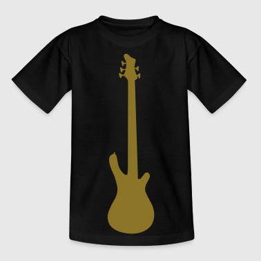 music base guitar - Camiseta adolescente