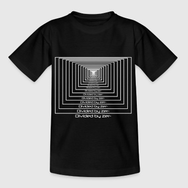 Divided by zero - Teenage T-shirt