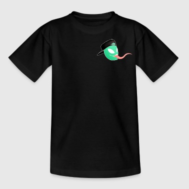 Bill das Alien Head Logo - Teenager T-Shirt