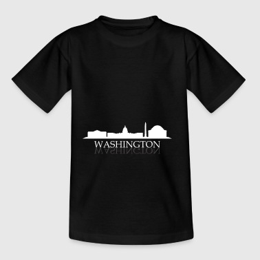 Washington Skyline - Teenager T-Shirt