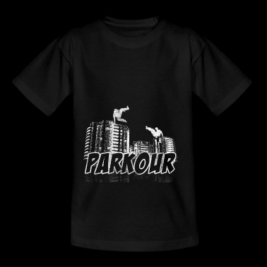 Parkour Gift Le Parcour Freerunning - Teenage T-shirt