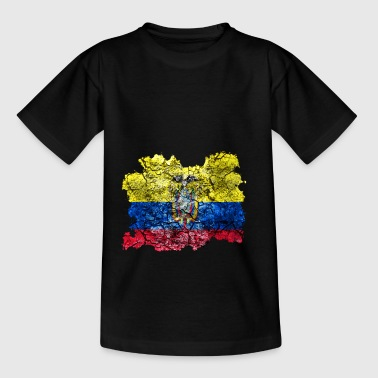 Ecuador vintage flag - Teenage T-shirt