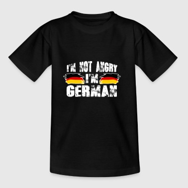 Not Angry German Pullover - Geschenk - Teenager T-Shirt
