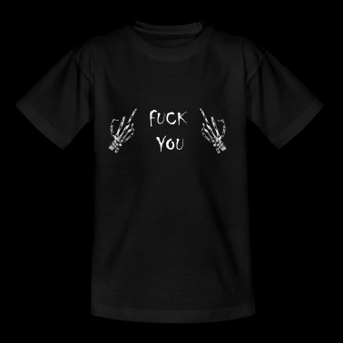 fick dich - Teenager T-Shirt