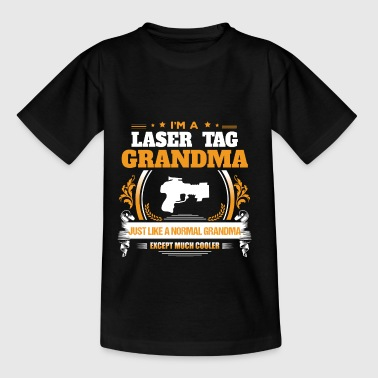 Laser Tag oma Shirt cadeau idee - Teenager T-shirt