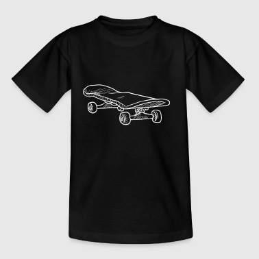 Skater gift || Skateboard gift - Teenage T-shirt