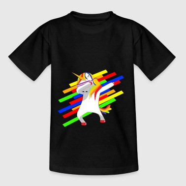 Unicorn-Dab - T-shirt Ado