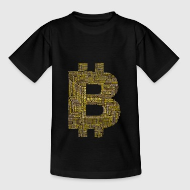 bitcoin gold typo blockchain crypto währung intern - Teenager T-Shirt