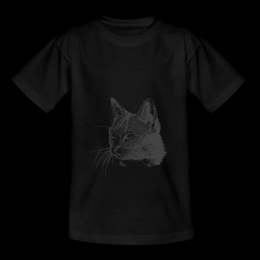 Mignons doux Mitze chat Kitty Comic Dessin - T-shirt Ado