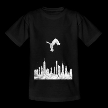 Parkour Gift Le parcours Free Running Backflip - Teenager T-shirt