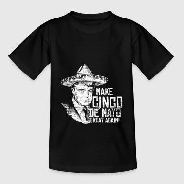 cinco de mayo Mexique vintage - T-shirt Ado