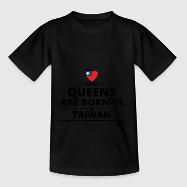 GIFT QUEENS LOVE FROM TAIWAN - Teenage T-shirt