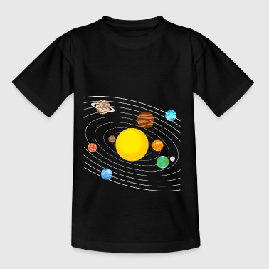 Sonnensystem - Teenager T-Shirt