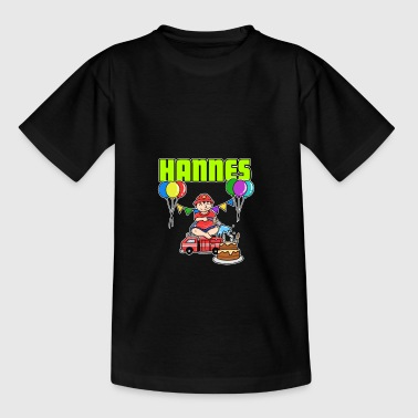 Fire Brigade Hannes Gift - Teenage T-shirt