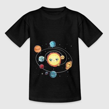 das Sonnensystem - Teenager T-Shirt