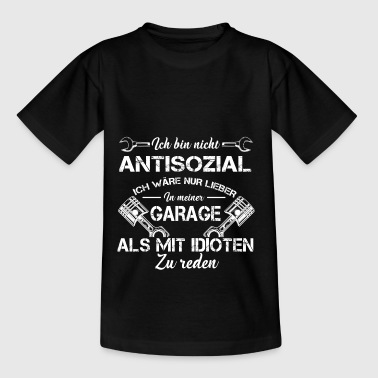 Antisozial - Teenager T-Shirt