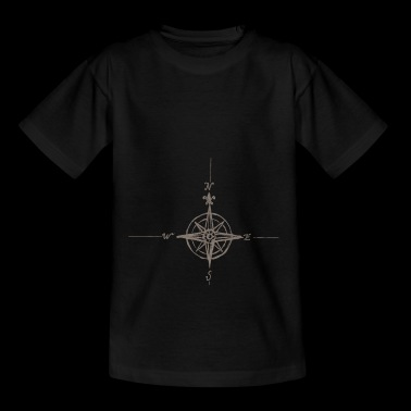 Compass vintage retro gift - Teenager T-shirt
