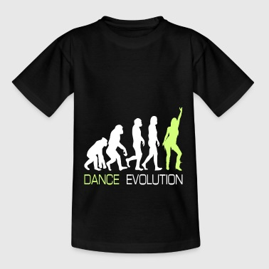 Tanzen Tänzerin Party Evolution T-Shirt Geschenk - Teenager T-Shirt