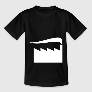 Rauchende Fabrik - Teenager T-Shirt