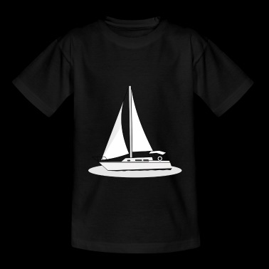 Boot Segelboot Meer Wind Segel - Teenager-T-shirt
