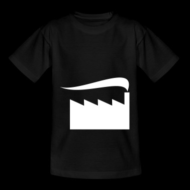 Smoking factory - Teenage T-shirt