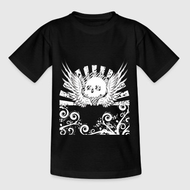 Skull Totenkopf Metal Gothic Hardrock Heavy Metal - Teenager T-Shirt