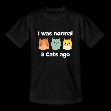 Cat pet meow cat lover cat lover - Teenage T-shirt