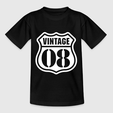 Vintage 08 Shirts - Teenage T-shirt