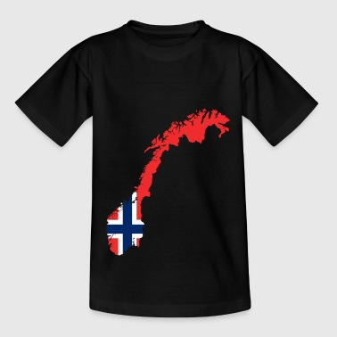 Norge Norge - Teenager-T-shirt