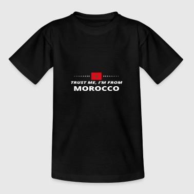 trust me i from proud gift MOROCCO - Teenager T-shirt