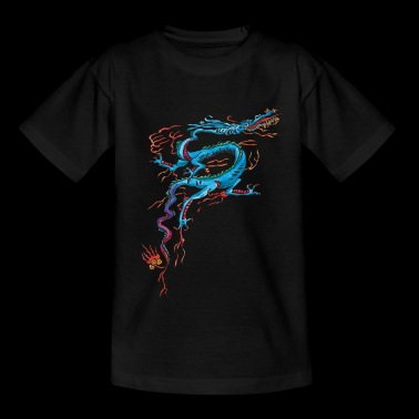 Dragon Bleu - T-shirt Ado
