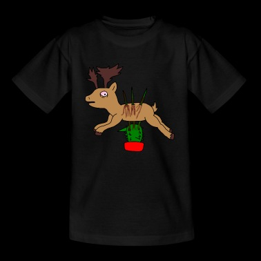 Spicy stag - Teenage T-shirt