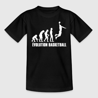 Basketbal Basket Évolution - Teenager T-shirt
