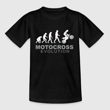 Motocross Evolution - T-shirt tonåring