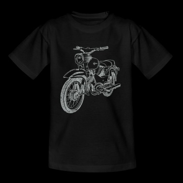 Simson Star Vintage Lineart Silhouette - Teenage T-shirt