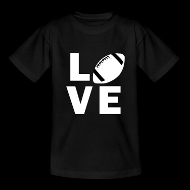 Love American Football - Teenager T-Shirt