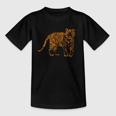 chat tigre lion - T-shirt Ado