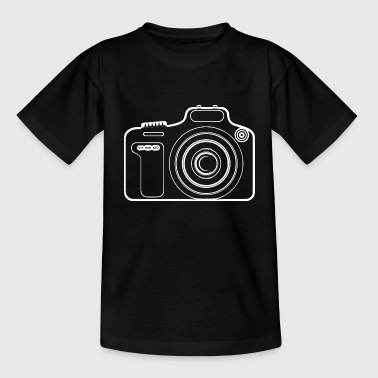 Photography of the camera - Teenage T-shirt