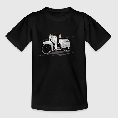 Simson Schwalbe KR51 scooter - Teenage T-shirt
